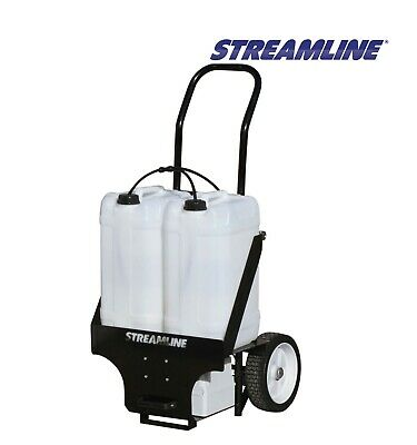 Streamflo-50™ Portable Pure Water Window Cleaning Trolley System – 50ltr • 995£