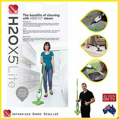 AU147.95 • Buy GENUINE✓ Multi Function H2O X5 LITE Steam Mop GREEN Cleaner DANOZ✓ H20 X5