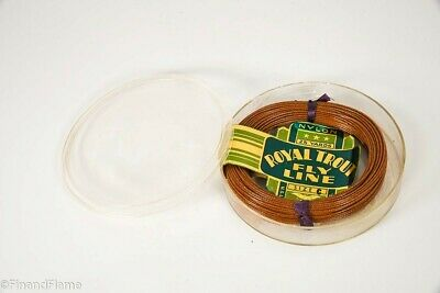 $ CDN33.83 • Buy Vintage Royal Trout Brand Fly Fishing Line New On Card In Box SJE223