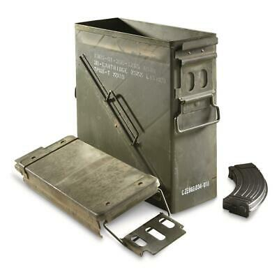 $50.45 • Buy 25mm Ammo Can Storage U.S. Military Surplus Army Collectible Removable Lid New