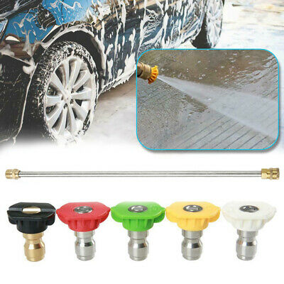 Gas/Gasoline High Pressure/Power Washer Wand/Lance & Nozzle 4000PSI For Car Auto • 13.71£