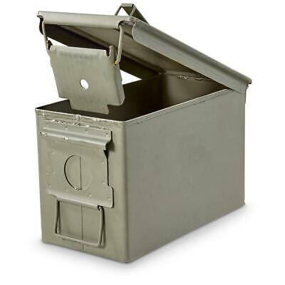 $32.01 • Buy Military Surplus .50 Cal M2A1 Large Caliber Ammo Can Box 100% Steel Excellent