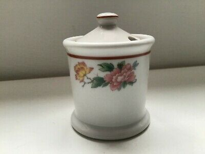 $14 • Buy Vintage Mayer China Restaurant Ware Lawson Pattern Condiment Jar With Lid