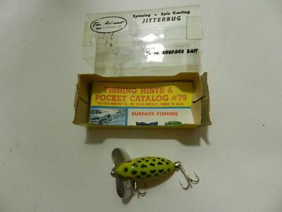 $ CDN47.37 • Buy Vintage Fishing Lure- Fred Arbogast Jitterbug- New Old Stock In Box