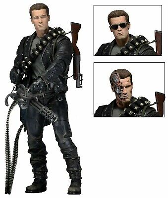 Terminator 2 Ultimate T-800 7  Action Figure Neca - Official • 36.95£
