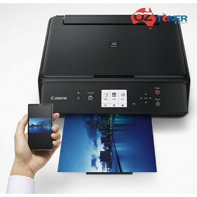 AU215 • Buy Canon PIXMA TS5060 All-in-One Wi-Fi Printer+AirPrint+Rear Paper Feeding (No Ink)