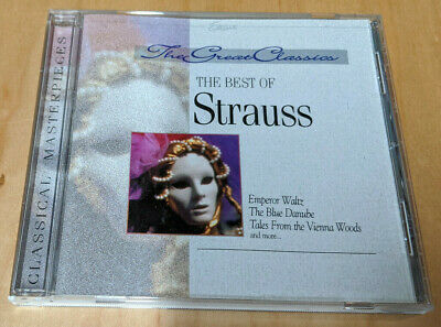 The Great Classics: The Best Of Strauss (CD, Excelsior Recordings) • 2.85£