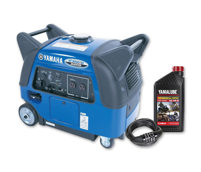 AU4339 • Buy NEW Yamaha EF3000iSE, 3000w Inverter Generator With Bonus Pack, 4 Year Warranty