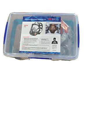 AU264 • Buy 3m 6800/6835 Full Face Respirator Kit Including P3 6035 Filters X2.