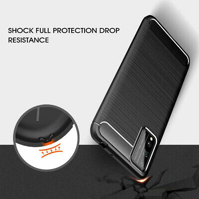 $ CDN10.30 • Buy Carbon Fiber Brush Soft Silicone Cover Lot Shockproof Case For Samsung Galaxy