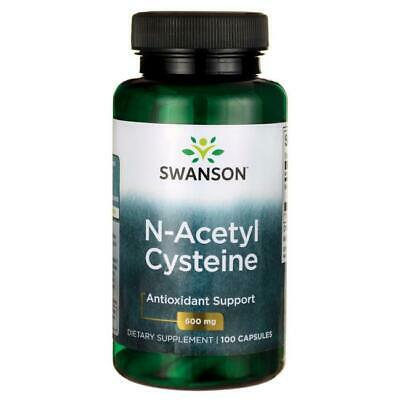 AU26.99 • Buy SWANSON NAC N-ACETYL CYSTEINE 600 MG,100 CAPSULES, Pick Up Or Post 3146