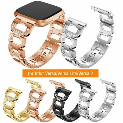 $ CDN12.72 • Buy Diamonds Bling Strap Bracelet For Fitbit Versa 2/ Versa Lite Watch Band