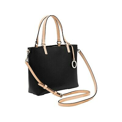 AU210 • Buy NEW OROTON Estate Mini Tote Bag Handbag Crossbody Leather Black Tag Dustbag