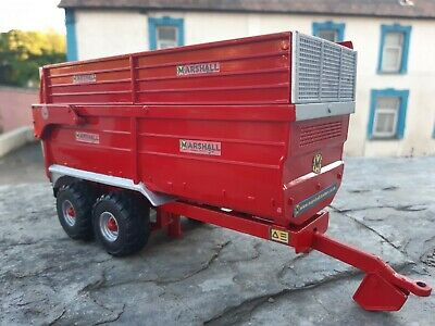 Rare Britains Conversion Marshall 16t  Silage Trailer  For Tractor Siku  • 40£