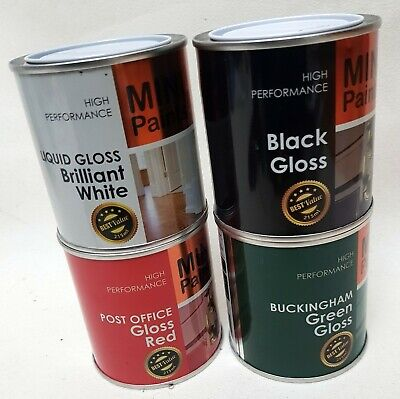 Gloss Paint 215ml Exterior Interior Use On Wood Or Metal HIGH PERFORMANCE X 1  • 6.99£
