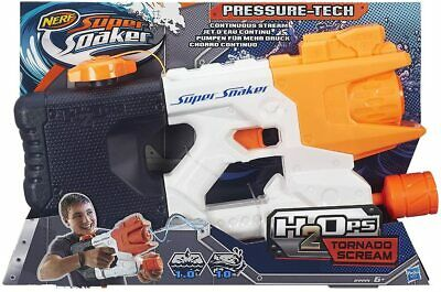 £14.69 • Buy Nerf Super Soaker Tornado Scream Holds Up To 1L Water ✅FREE UK SHIPPING✅