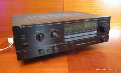 $596.25 • Buy Nakamichi TA-4A High Definition Tuner Amplifier Receiver, Tested Working