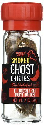 $9.99 • Buy Trader Joe's Smoked Ghost Chiles Bhut Jolokia Pepper Grinder Spicy ** Hot **