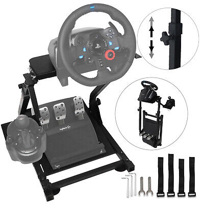 Racing Simulator Steering Wheel Stand GT Gaming For G27 G29 PS4 G920 T300RS • 51.95£