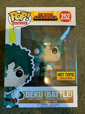 $22 • Buy Funko Pop! Animation My Hero Academia MHA Deku (Battle) #252 Hot Topic Exclusive