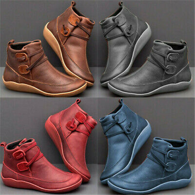 Women's Casual Arch Support Wedge Boots Multi Colors Platform Shoes Sneakers • 11.77£