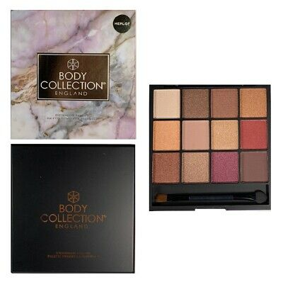 Body Collection 12 Colours Merlot Eyeshadow Palette • 8.09£