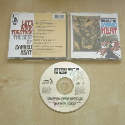CANNED HEAT Let's Work Together, The Best Of .... CD ALBUM • 3.99£