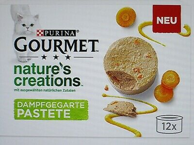 Purina Gourmet ' Natures Creations ' Pate X 24 - '' NEW '' • 29.99£