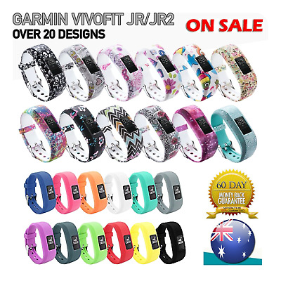 AU4.95 • Buy For GARMIN VIVOFIT JR 1 JUNIOR 2 Replacement Band Fitness Wristband Tracker Au P