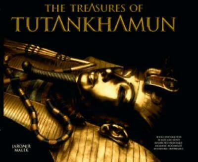 The Treasures Of Tutankhamun By Jaromr Mlek (Hardback) FREE Shipping, Save £s • 12.15£