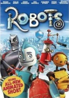 ROBOTS - ASDA EXCLUSIVE [DVD] DVD Value Guaranteed From EBay's Biggest Seller! • 3.63£