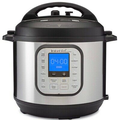 $89 • Buy Instant Pot - Duo Nova 8-Quart 7-in-1, One-Touch Multi-Cooker - Silver