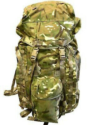 New British Army Issue MTP Bergen Rucksack Long Convoluted Back • 74.99£