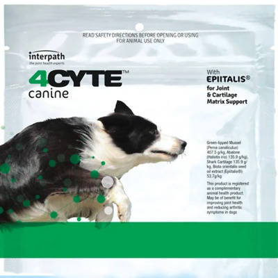 AU89.59 • Buy 4Cyte Canine Joint Support For Dogs