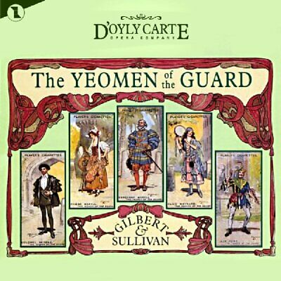 Gilbert & Sullivan: The Yeomen Of The Guard -  CD XEVG The Cheap Fast Free Post • 4.96£