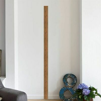 Growth Chart Height Measure Wall Stickers Wall Decal For Children Decor Sticker. • 3.53£