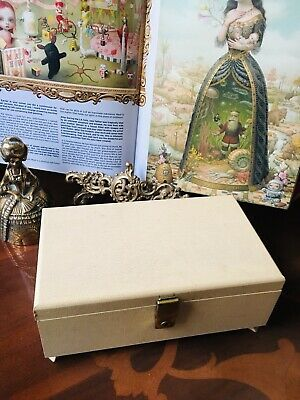 Vintage Reuge Music Jewellery Box  With Key • 35£