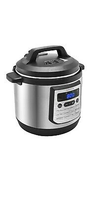$99.99 • Buy Insignia- 8-Quart Multi-Function Pressure Cooker Stainless Steel Instant Pot NEW