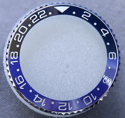 $ CDN317.65 • Buy Complete Stainless Steel Bezel For Gmt Master Ii Batman Black/blue Color