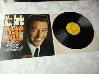 Mac Curtis The Sunshine Man Record Vinyl VG++-NM EPIC Records PROMO • 13.09£