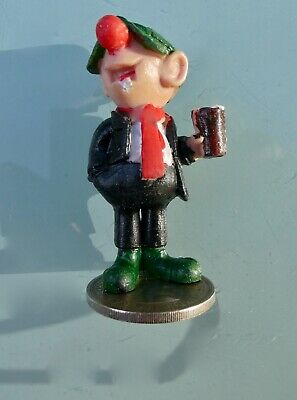 £12 • Buy Andy Capp  Figure Standing On 2 X Shillings (2x Bob)  Reflecting Andy Way Back