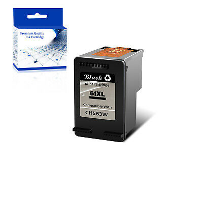 AU33.99 • Buy 1PK Compatible With 61XL Black Ink For HP Officejet 2620 4630 4632 4635