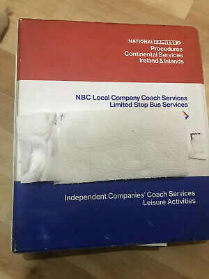 National Express Sales Manual 4th Edition February 1983 • 25£