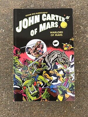 $31.49 • Buy John Carter Of Mars Warlord Of Mars Graphic Novel Book Edgar Rice Burroughs