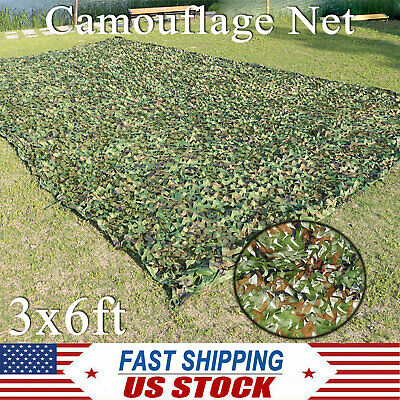 $17.91 • Buy Camping Woodland Leaves Camouflage Camo Army Net Netting Military Hunting Cove