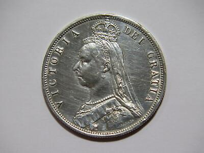 $11.50 • Buy Great Britain 1887 Half Crown Queen Victoria Polished Cleaned World Coin 🌈⭐🌈
