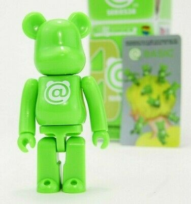 $9.89 • Buy Medicom Bearbrick Be@rbrick 100% Series 38 Basic @ Green S38 Toy