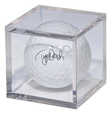 (1) Golf Ball Stackable Clear Display Square Cube Acrylic Holder Free Shipping • 4.97£