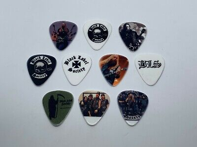 $ CDN11.38 • Buy BLACK LABEL SOCIETY Guitar Picks Set (10 Picks/10 Diferent Designs) Brand New