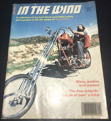 """$24 • Buy Vintage Easy Rider """"in The Wind"""" Motorcycle Magazine Issue #1"""